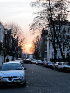 """sunset over colville terrace"""